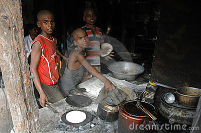 Child Labour In India. Editorial Photo