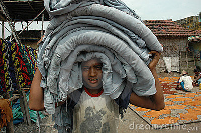 Child Labour In India. Editorial Stock Photo
