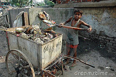 Child Labour In India. Editorial Image