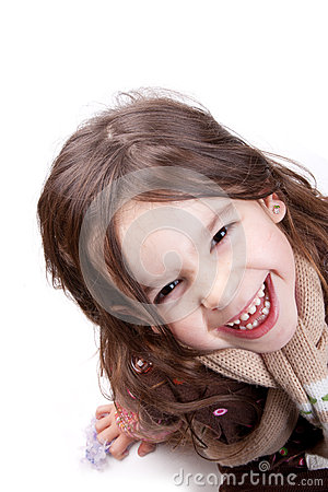Free Child Laughing Royalty Free Stock Photo - 35430295