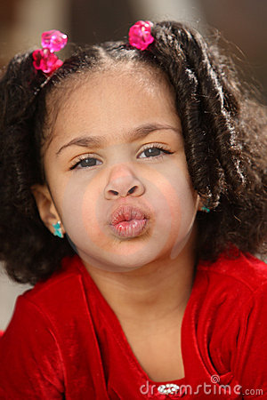 Child, multiracial
