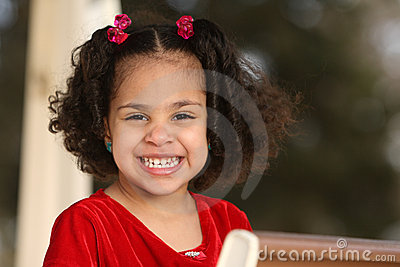 Child, multiracial