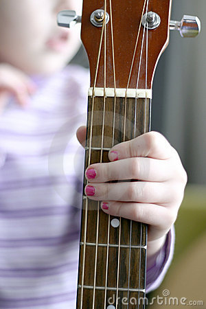 Free Child Musician Stock Photography - 5259732