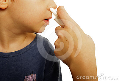 Child nasal spray