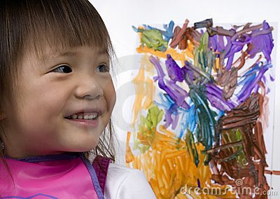 Child Painting 1