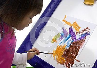 Child Painting 5