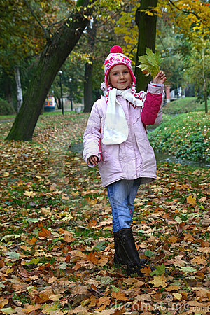 Child in the park
