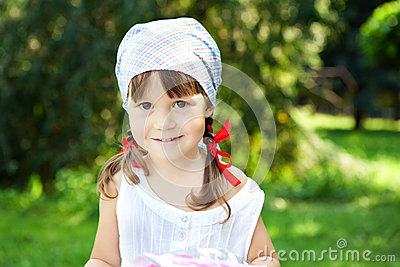 Child In The Park Royalty Free Stock Photo - Image: 24942685