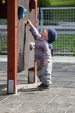 Child in playground