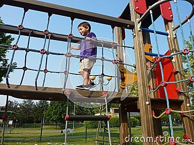 Child at the playground