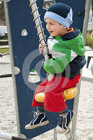 Child at playground