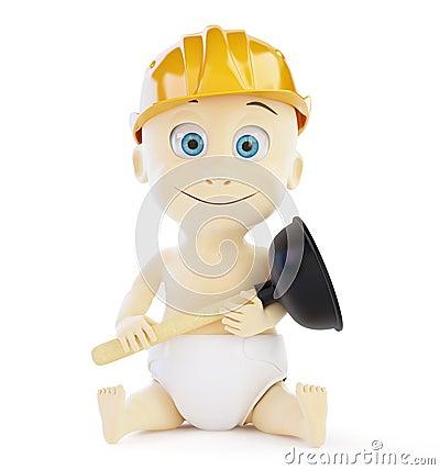 Child plumber