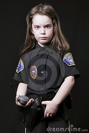 Child Police Officer