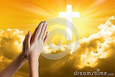 Child Prayer Hands Praying Faith