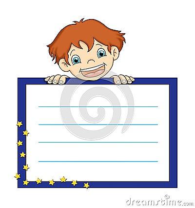 Child with presentation