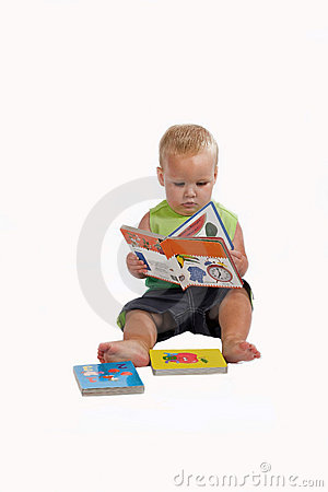 Child Reading Book