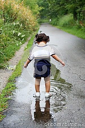 Free Child Reflection2 Stock Photos - 4580383