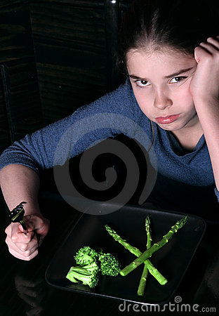 Child Refusing Vegetables