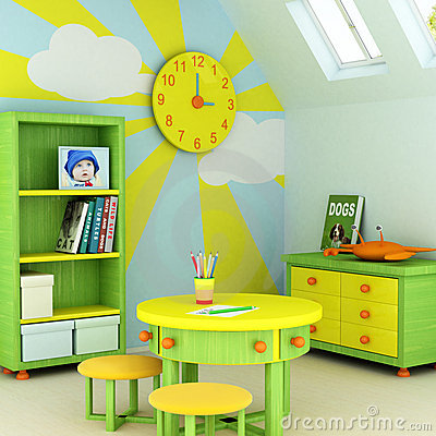 Free Child Room Royalty Free Stock Photos - 2675958