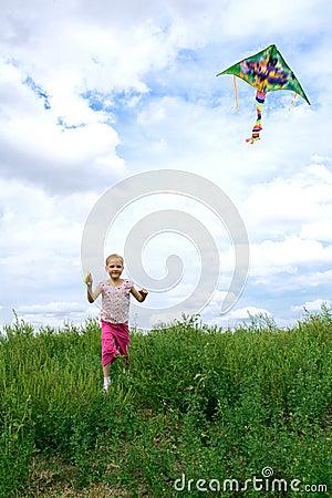 Child run on field