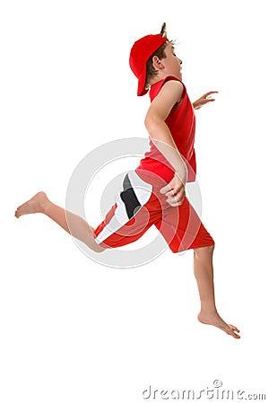 Free Child Running Fast Stock Photo - 3775160