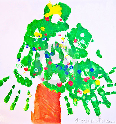 Child s Art Work/ Tree