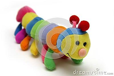 Child s caterpillar soft-toy