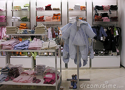 Child s clothes shop