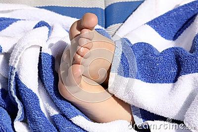 Child s feet