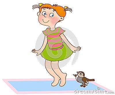 Child s gymnastics