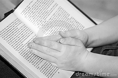 Child s Hands in Prayer
