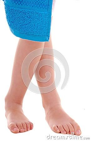 Child s legs