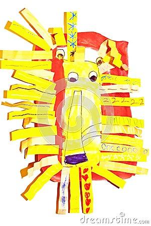 A Child s Lion/Artwork