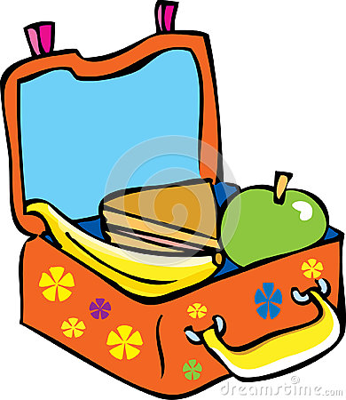 A Child S Lunchbox Stock Vector Image 53655527