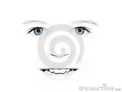Child s pretty face