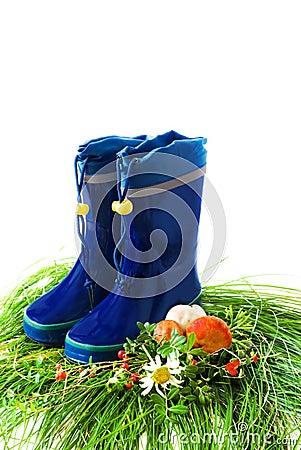 Child s rain boots