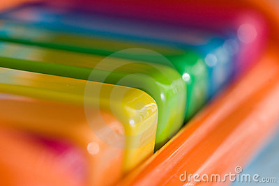 Child s rainbow piano