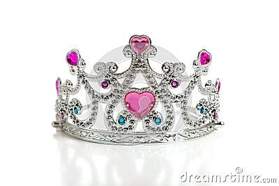 A child s toy princess tiara