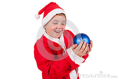 Child with Santa Hat