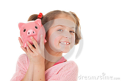Child with savings