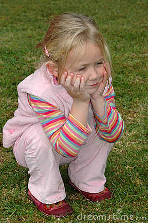 Free Child Sitting Down Stock Images - 3087664