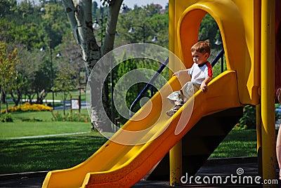 Child sliding