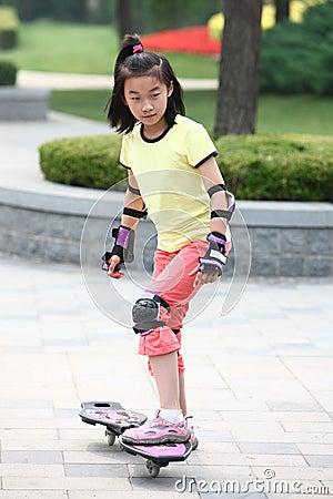 Child sporting