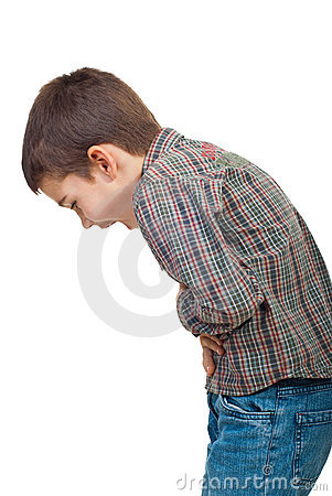 Free Child Stomach Ache Royalty Free Stock Images - 16312329
