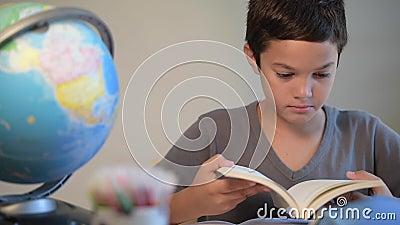 Child, Student, Education, School, Reading, Digital school. Young Child Student Education School, Reading Digital school stock video footage