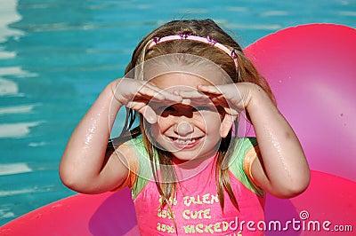 Child in sun