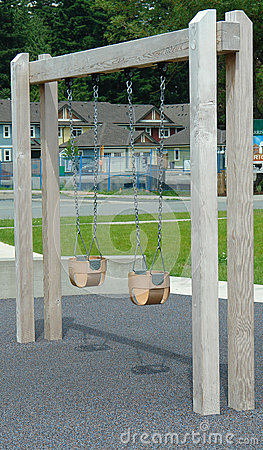 Child Swing Set Outdoor Park