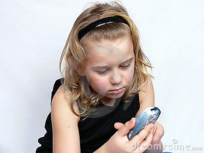 Child is texting