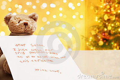 Child true wish on Christmas