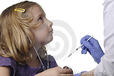 Child vaccinations.